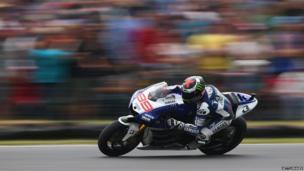 MotoGP rider Jorge Lorenzo