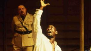 David Harewood in Othello