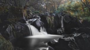A river walk in Cwmaman by Simon Rees from Thomastown, Rhondda Cynon Taf
