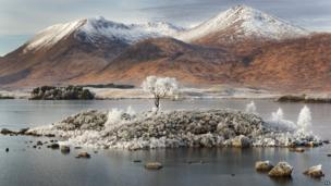 Ghost of Rannoch Moor by David Breen