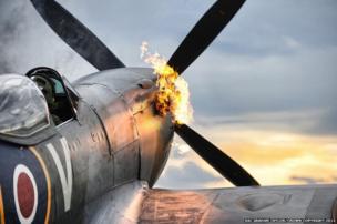 Spitfire TE311 of the Royal Air Force Memorial Flight