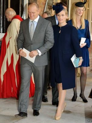 Zara Tindall and her husband, former England rugby player Mike Tindall