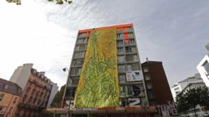 Facade of Tour Paris 13