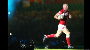Rugby League World Cup opening ceremony - Gareth Thomas