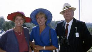 Susannah York, Sarah Atkinson and Nigel Davenport in Trainer