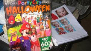 A Halloween themed catalogue (October 2013)