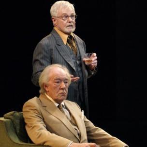 Sir Michael Gambon and Sir Derek Jacobi