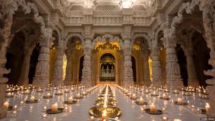 Neasden Temple. Photo: Yogen Shah