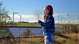 Emma at Mossmorran wind farm