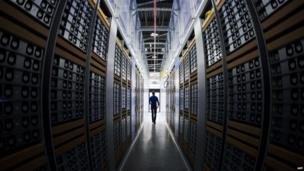 Facebook data centre in Luleaa, northern Sweden