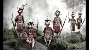 Tribesmen, Papua New Guinea