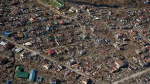 Typhoon aftermath in Tacloban, Philippines, 16 Nov