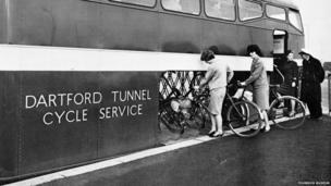 Dartford Tunnel Cycle Service