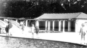 Boating Lake in the 1930s