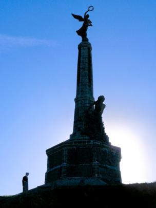 Aberystwyth's war memorial