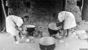 Kumi Township Primary School Kitchen Uganda, 2010 by Cordelia Weedon