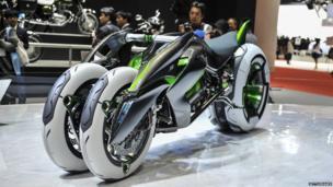 Kawasakis J Three Wheeler EV concept tricycle