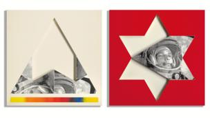 Gagarin, Star, Triangle 1968 by Joe Tilson