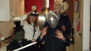 Dr Who dress up celebrations. Photo: Neil Williams