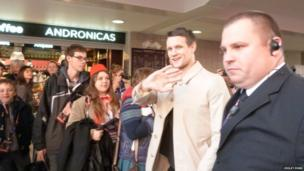 Dr Who actor Matt Smith at ExCel Centre. Photo: Violet Ford