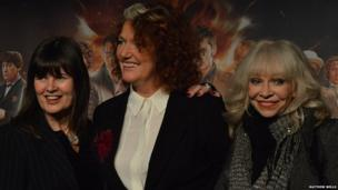 Dr actresses Sophie Aldred, Louise Jameson and Katy Manning. Photo: Matthew Wells