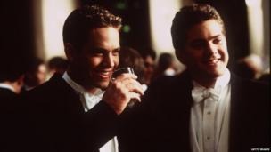 Paul Walker (left) in Skulls