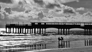 Boscombe Pier by Thilo Boeck