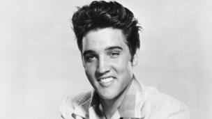 Elvis in 1957
