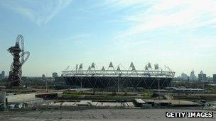 Olympic Park Image Caption The Chancellor And Mayor Of London Want To Develop Area Between Stadium Stratford Station