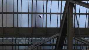 Storm damage to the roof at Glasgow's Central Station saw commuters evacuated