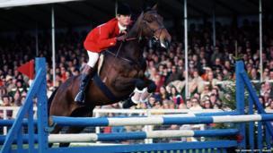 Richard Meade riding a horse