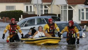 Woman and her dog rescued by the RNLI