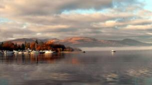 Loch Lomond from Lomond shores, taken by Teresa Hunter from Glasgow.
