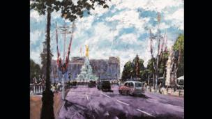 Celebration On The Mall by Timmy Mallett