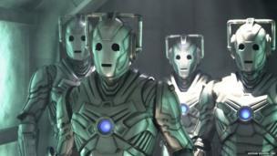 A group of Cybermen