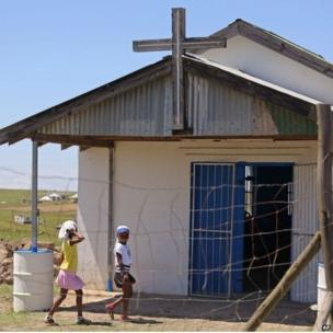 Apostolic Church in Qunu (8 Dec 2013)