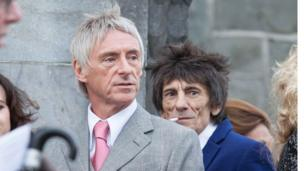Paul Weller and Ronnie Wood