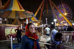 Fairground in Iran
