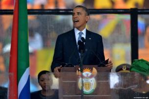 US President Barack Obama delivers a speech