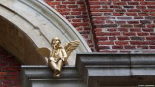 Golden angel in Leuven