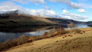 Loch Tay and Ben Lawers