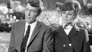 Peter O'Toole and Audrey Hepburn in How to Steal a Million