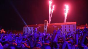 big weekend fireworks