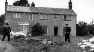 Leatherslade Farm, the gang's hideout