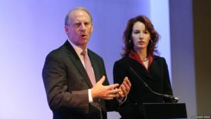 US diplomat Richard Haass and Harvard professor Meghan O'Sullivan
