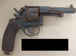 Still picture of the gun