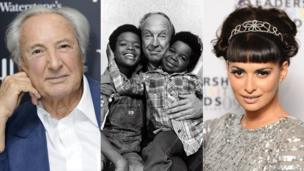Michael Winner, Conrad Bain (with Todd Bridges and Gary Coleman), Sophiya Haque