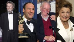 Iain Banks, James Gandolfini, Tom Sharpe, Esther Williams