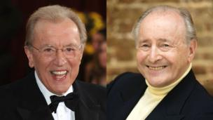 Sir David Frost and David Jacobs