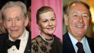 Peter O'Toole, Joan Fontaine, David Coleman